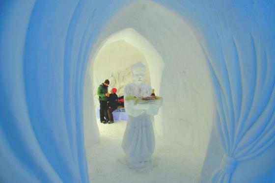 Schneeskulpturen selber machen - Schnupperstunde im Iglu-Dorf 3 [article_picture_small]