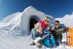 Iglu Übernachtung Family-inkl. Fondue & Schneeschuhtour 1