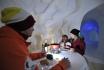 Nuit en igloo en famille-Incl. tour en raquettes et fondue 5