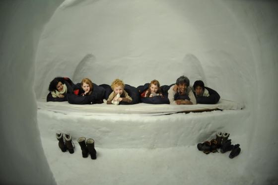 Iglu Übernachtung Family - inkl. Fondue & Schneeschuhtour 1 [article_picture_small]