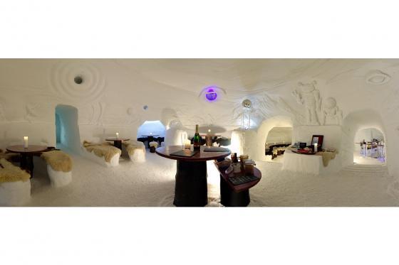 Iglu Übernachtung Family - für 2 Erwachsene und 2 Kinder inkl. Fondue & Schneeschuhtour 8 [article_picture_small]