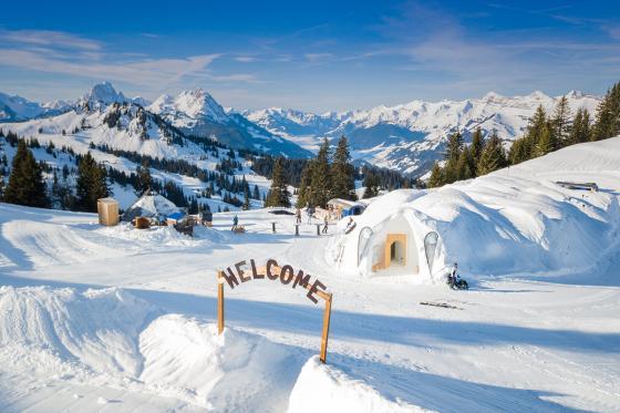 Iglu Übernachtung Family - für 2 Erwachsene und 2 Kinder inkl. Fondue & Schneeschuhtour 9 [article_picture_small]