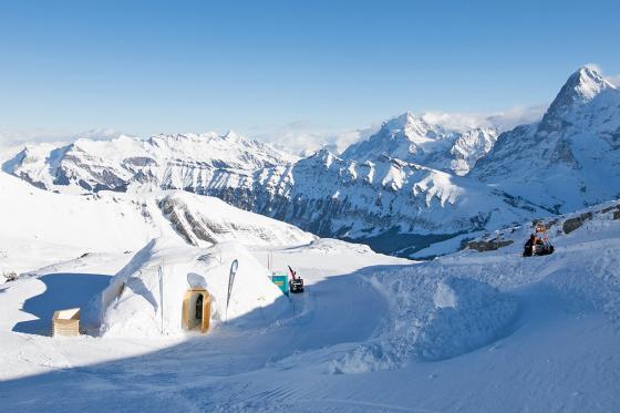 Iglu Übernachtung Family - für 2 Erwachsene und 2 Kinder inkl. Fondue & Schneeschuhtour 10 [article_picture_small]