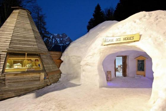 Fondue dans un igloo - pour 2 personnes, à Leysin (VD)  [article_picture_small]