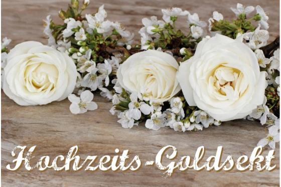 Hochzeit - Goldsekt 7.5dl 1