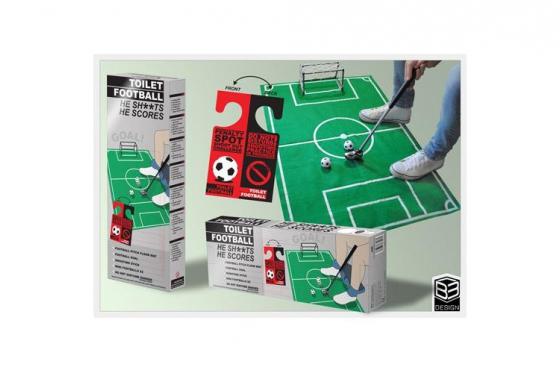 Fussball - Für die Toilette 2