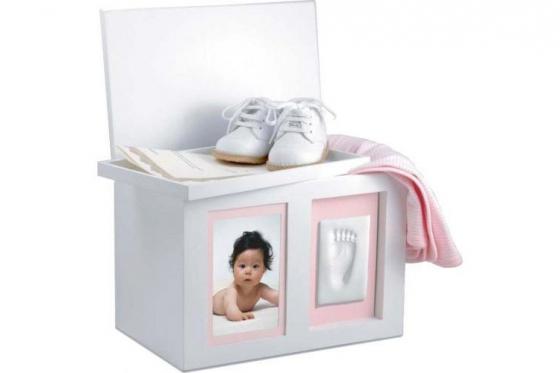 Boîte à souvenirs - bébé - avec gravure