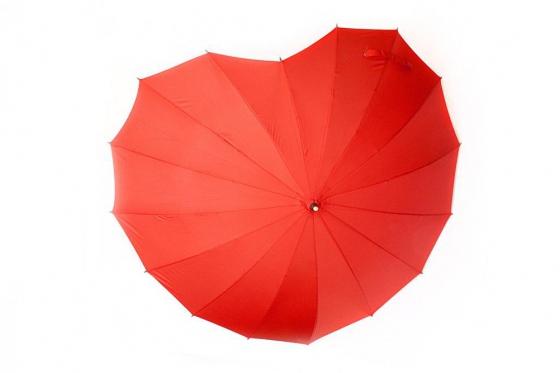 Regenschirm - Herzform 1