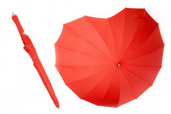 Regenschirm - Herzform 2