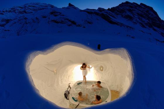 Love-Nest Iglu - Übernachtung im klassisch gebauten Iglu für 2 in Zermatt 10 [article_picture_small]