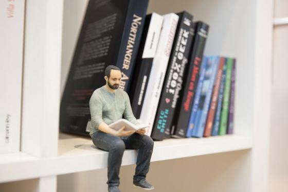 Votre Portrait en 3D - à Lausanne, échelle 1:9 1 [article_picture_small]