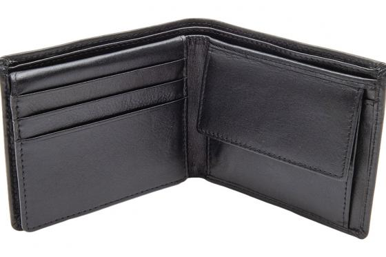 Leder Portemonnaie - mit Lasergravur 3