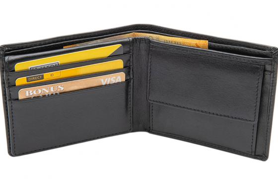 Leder Portemonnaie - mit Lasergravur 5