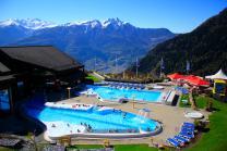 Wellnessaufenthalt im Hotel Ardève - 1 Übernachtung, Eintritt im Thermalbad Ovronnaz, 3-Gänge Menü
