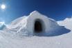Iglu-Nacht & Gleitschirmfliegen-für 2 Personen in Davos 2