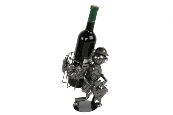 Flaschenhalter - Motiv Wein