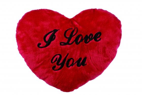 I love you - Plüschherz 35cm