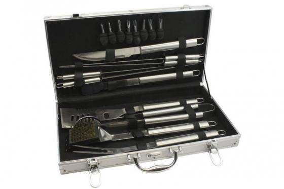 Mallette BBQ personnalisable - 18 ustensiles  2
