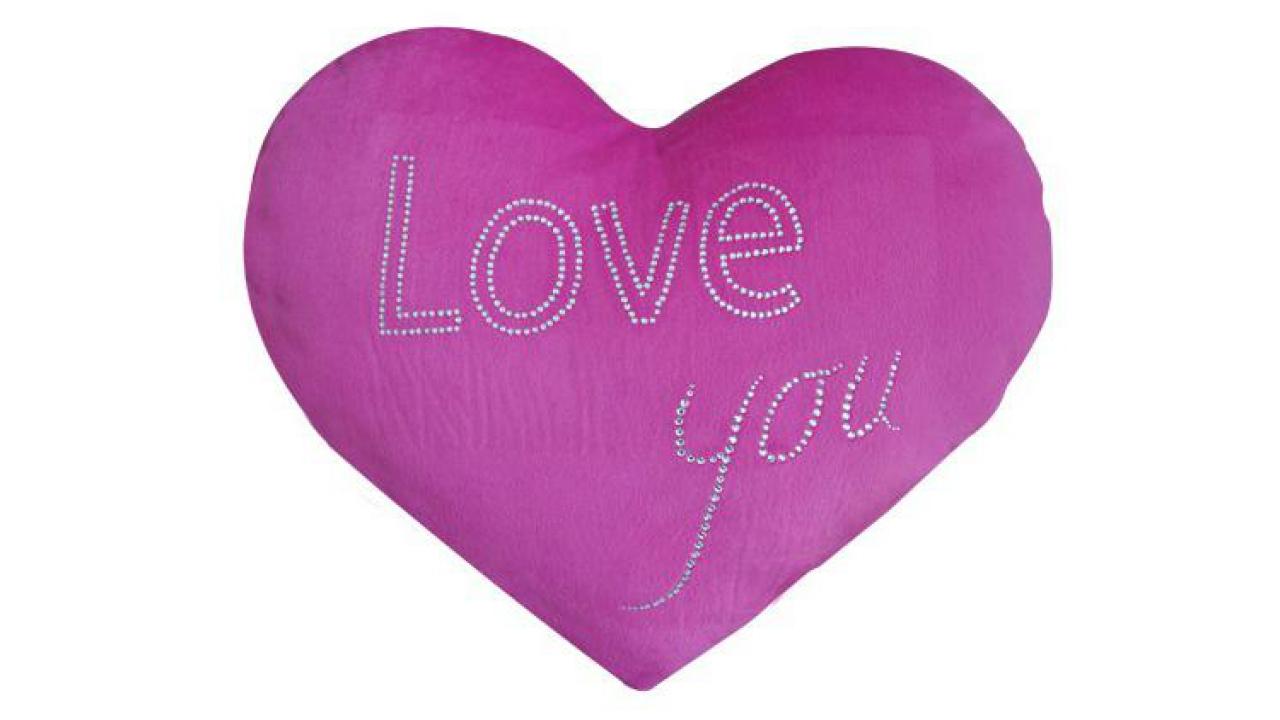 love you kissen. Black Bedroom Furniture Sets. Home Design Ideas