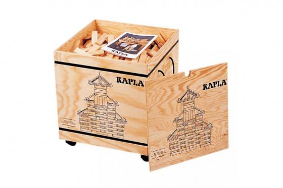 Kapla - 1000 Teile mit Holzkiste