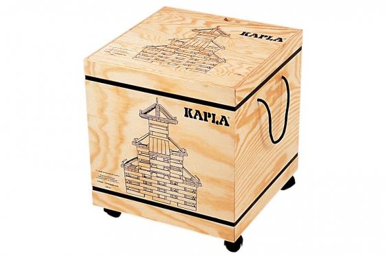 Kapla - 1000 Teile mit Holzkiste 1