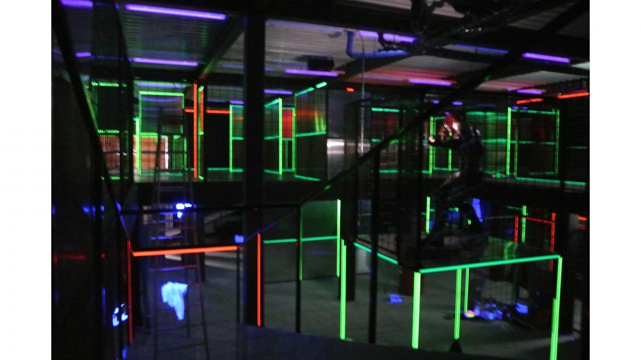 Lasertag In Luzern 60 Min Action In Luzern