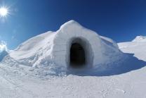 Iglu Übernachtung  - in Davos, Zermatt oder Gstaad inkl. Fondueplausch