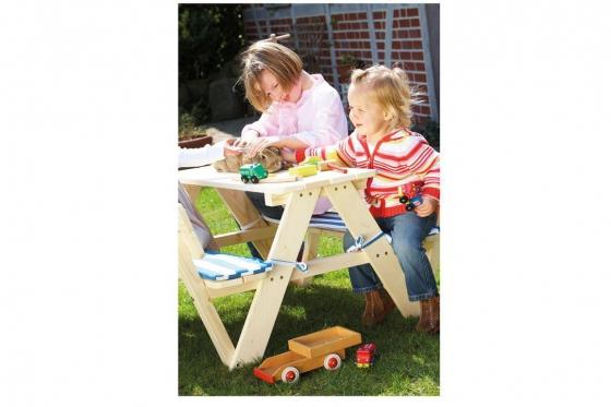 table de pique nique pour enfants en bois cadeaux24. Black Bedroom Furniture Sets. Home Design Ideas