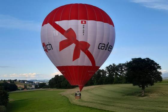 Vol en montgolfière - Région Fribourg - Valable pour un vol