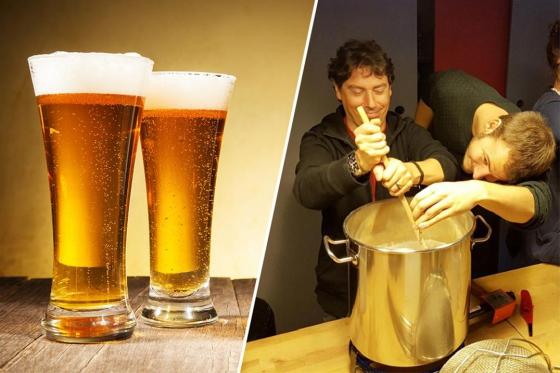 Cours de brassage pour 2 - Inclus: bière à volonté, fondue et 4-5 litres de votre propre bière  [article_picture_small]