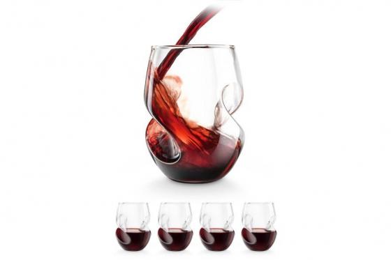 Weingläser 4er Set - mit Tragekomfort