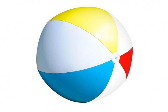 Riesiger Strandball - 107cm, Aufblasbar 1