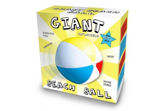 Riesiger Strandball - 107cm, Aufblasbar 2