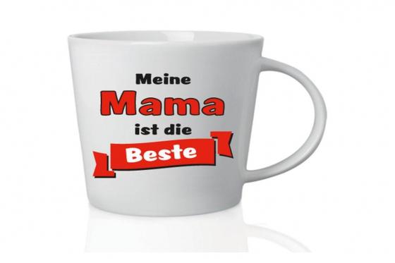 Beste Mama Tasse - mit Herz