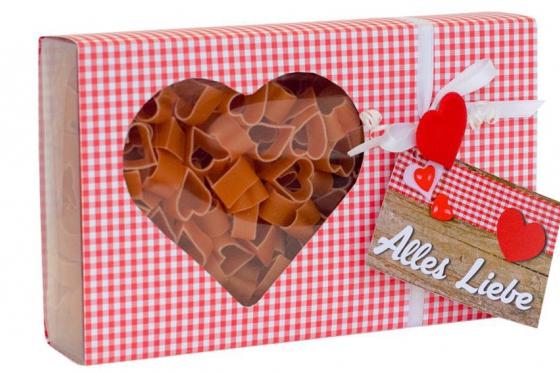 Pasta mit Herz - Alles Liebe