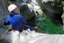 Canyoning Challenge - im Tessin