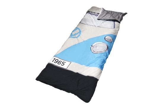 Schlafsack - VW Motiv, Blau