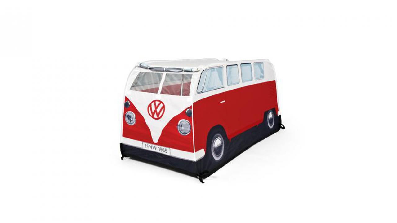 mini tente bus vw rouge pour les petits fans de vw. Black Bedroom Furniture Sets. Home Design Ideas