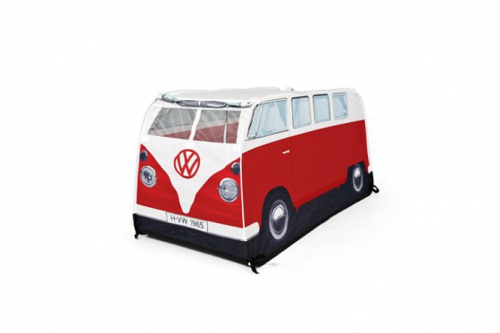 VW-Bus Mini Tente - disponible en rouge