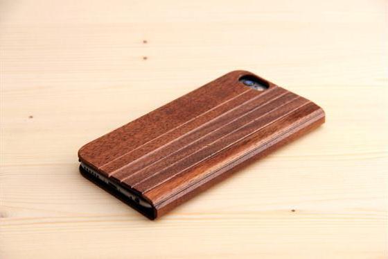 iPhone 6/6S Flip Case - Sandelholz