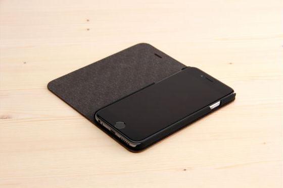 iPhone 6/6S Flip Case - Sandelholz 1