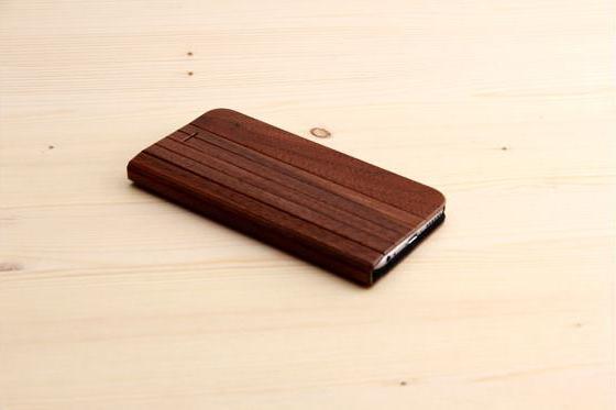 iPhone 6/6S Flip Case - Sandelholz 2