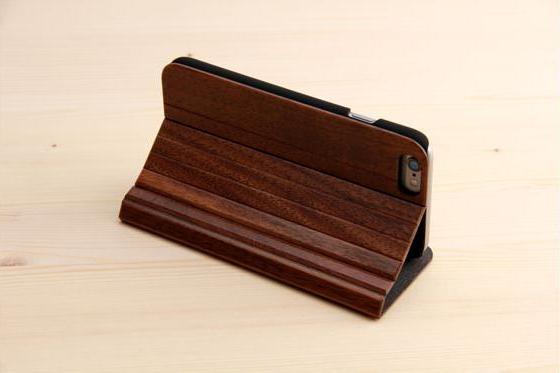 iPhone 6/6S Flip Case - Sandelholz 3