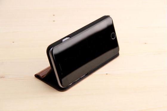 iPhone 6/6S Flip Case - Sandelholz 4