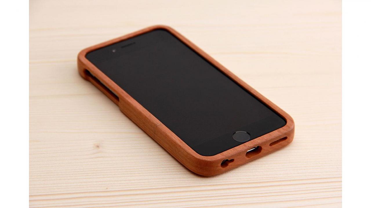 Iphone 6 6s hard case for Case en bois