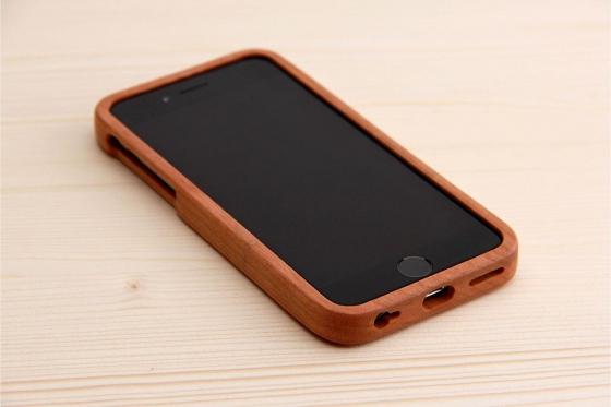 iPhone 6/6S Hard Case - en bois de cerisier 3