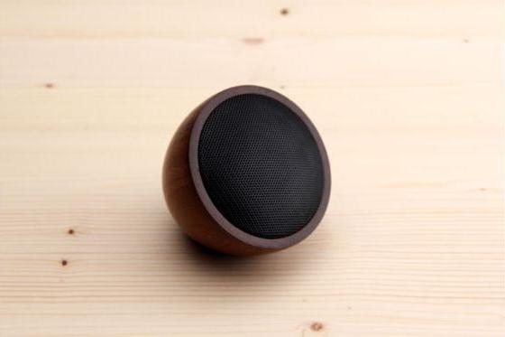 Bluetooth Music Dome - Walnuss Lautsprecher