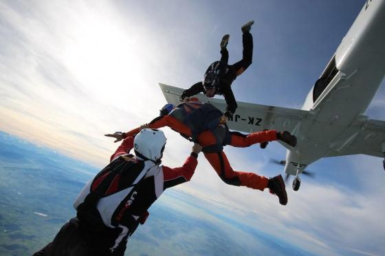 Fallschirm Erstabsprung - Schnupperkurs Solo-Sprung Freitag  [article_picture_small]