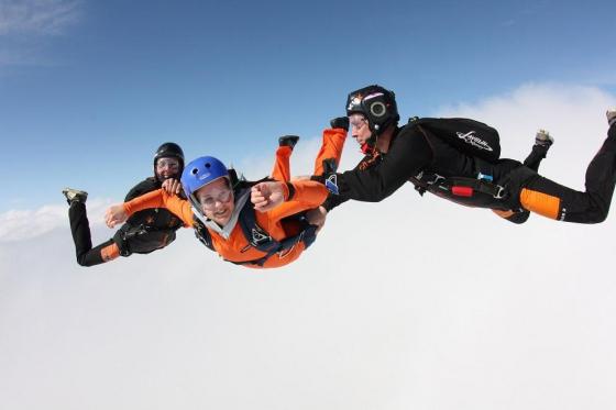 Fallschirm Erstabsprung - Schnupperkurs Solo-Sprung Freitag 1 [article_picture_small]