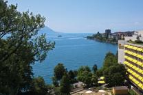 Deluxe Übernachtung für 2 - im Royal Plaza Montreux & Spa